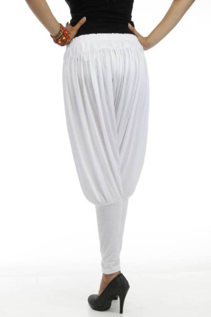 Buy dee fashion house white viscose lycra jodhpurs online for Housse lycra
