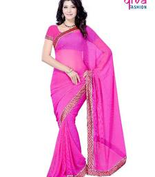 Buy Glossy Party/Festival wear saree by DIVA FASHION-Surat georgette-saree online