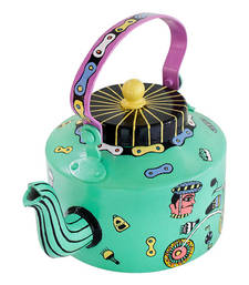 Buy Bicycle Dreams Hand Painted Kettle tea-kettle online