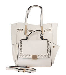 Buy Beige fashion tote bag tote-bag online