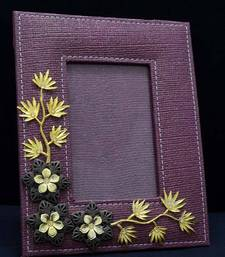 Buy Maroon Floral Twist Photo frame photo-frame online