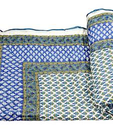 Buy Green printed cotton quilts quilt online