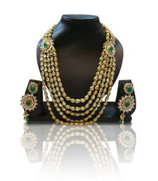 Buy Design no. 10b.1122....Rs. 6500 necklace-set online