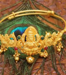 Buy Gorgeous high gold temple baju band bajuband online