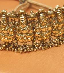 Buy Gorgeous  antique high gold baju band bajuband online