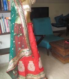 Buy Jaipur Red Heavy embroidered Lehenga lehenga-choli online