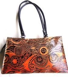 Buy Shantiniketan designer ladies leather fashion handbag purse handbag online