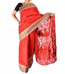 Buy Designer supernet cotton fancy border pallu saree new-year-gift online