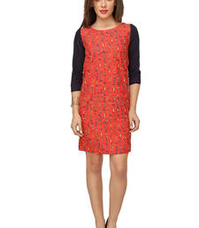 Buy FUNK FOR HIRE DOLL SHIFT DRESS CORAL dress online