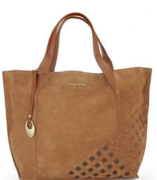Buy Tan leather tote bags tote-bag online