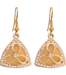 Buy Designer Diamond Dangle Earrings danglers-drop online