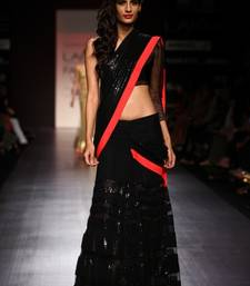 Buy Manish malhota lakme 2013 saree net-saree online