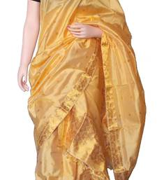 Pure Assam Silk Mekhela Chador with exotic Golden Thread Weaving works