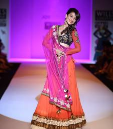 Gauhar khan in beautiful Bollywood lehenga