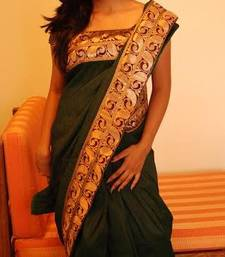 Buy green saree silk-saree online