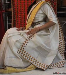 Ethnic Saree - Cream Dreams shop online