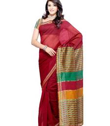 Buy Comely Casual/partywear saree by DIVA FASHION- Surat art-silk-saree online
