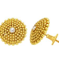 Buy Dazzling Gold Plated Earring For Women stud online