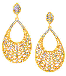 Buy Astonishing Gold Plated AD Earring For Women eid-jewellery online