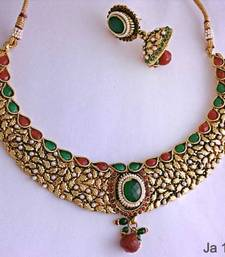 Buy polki necklace set Necklace online