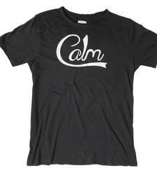 Buy Calm (Black) men-tshirt online