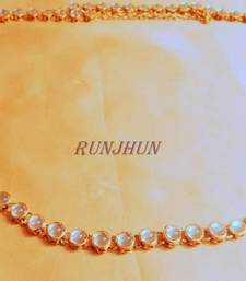 Buy single line kundan waist belt waist-belt online