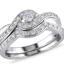 Buy Signity sterling silver anjali ring engagement-ring online