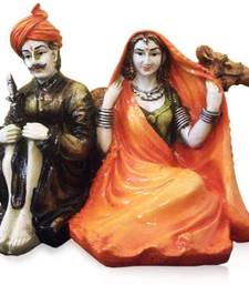 Buy Rajasthani Couple with Camel gifts-for-mom online