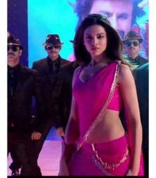 Deepika hot pink lungi dance chennai express saree shop online