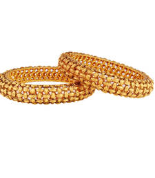 Buy Popular Rich Gold plated antique bangle bangles-and-bracelet online