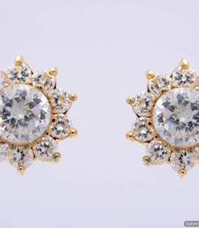 Buy BEAUTIFUL DAILY WEAR STONE STUDDED SUN TOPS/EARRINGS/STUDS (AD) - PCE1036 stud online