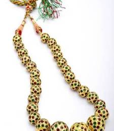 Buy EXOTIC JAIPUR BALLS GRADED MALA necklace-set online
