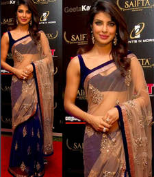 Priyanka Chopra Lifestyle Bollywood Replica Saree shop online