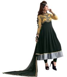 Buy Triveni Above ankle-length embroidered Salwar Kameez 16679 dress-material online