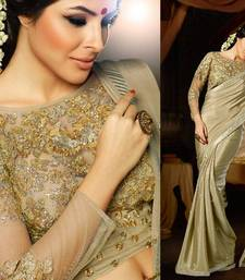 Buy Mind Blowing Designer Heavy Look Blouse Party Wear Fancy Saree heavy-work-saree online