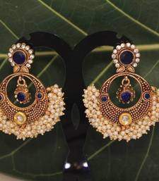 Buy kundanearringno233h danglers-drop online