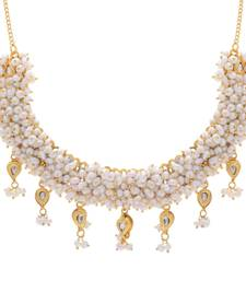 Buy REAL PEARLS NECKLACE SET FROM HYDERABAD Necklace online