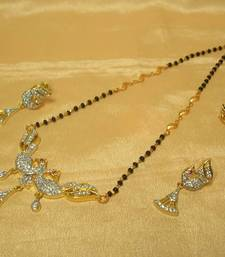 Buy Peacock AD-CZ Mangalsutra mangalsutra online