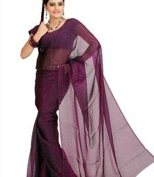 Buy Deep magenta tissue jacquard saree with unstitched blouse (msk1087) tissue-saree online
