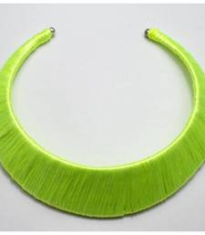 Buy Fluorescent green choker Necklace online