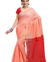 Buy light rose hand woven silk saree With Blouse kota-silk-saree online