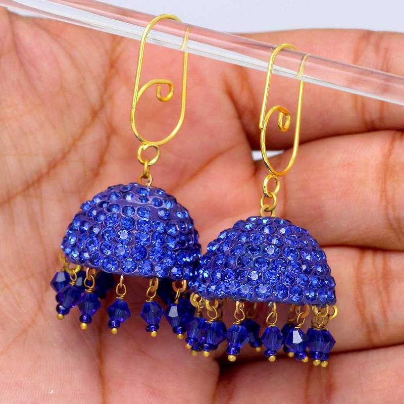 Buy traditio0l turquoise color handmade rajasthani for Turquoise colored fashion jewelry