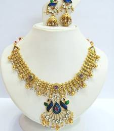 Buy Design no. 8 b.1316....Rs. 3950. necklace-set online