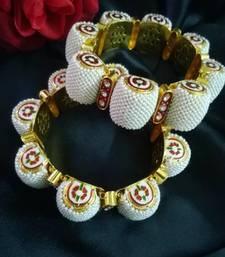Buy rajaasthani moti noghri bangles-and-bracelet online