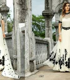 Buy Partywear Indo-western Exclusive Gown party-wear-gown online