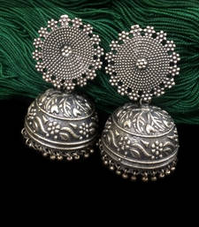 Buy Hot Selling German Silver Earring stud online
