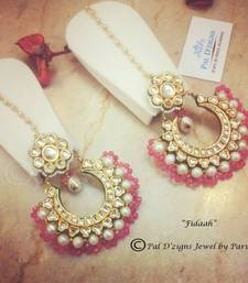 Buy Fidaah - Pink danglers-drop online