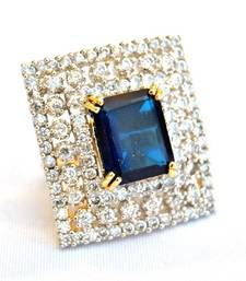 Buy Rectangular Sapphire Diamond Ring Ring online