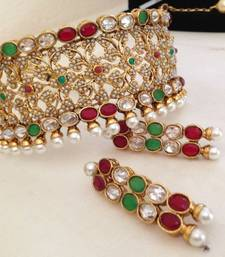 Buy Design no. 38.919....Rs. 2800 necklace-set online