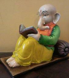 Buy Ganesha Reading Book sculpture online